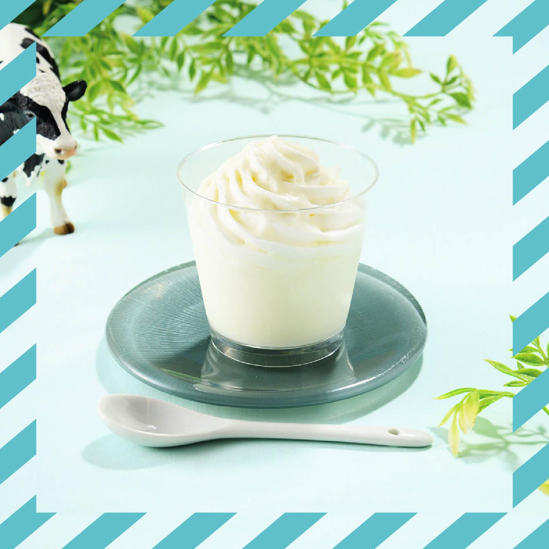 ローソン×生クリーム専門店MILK『Uchi Café×生クリーム専門店Milk MILKパンナコッタ』