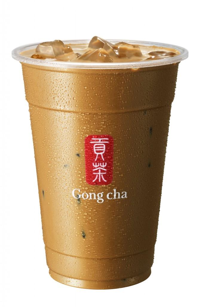 ゴンチャの『新 焙じ茶 ミルクティー』