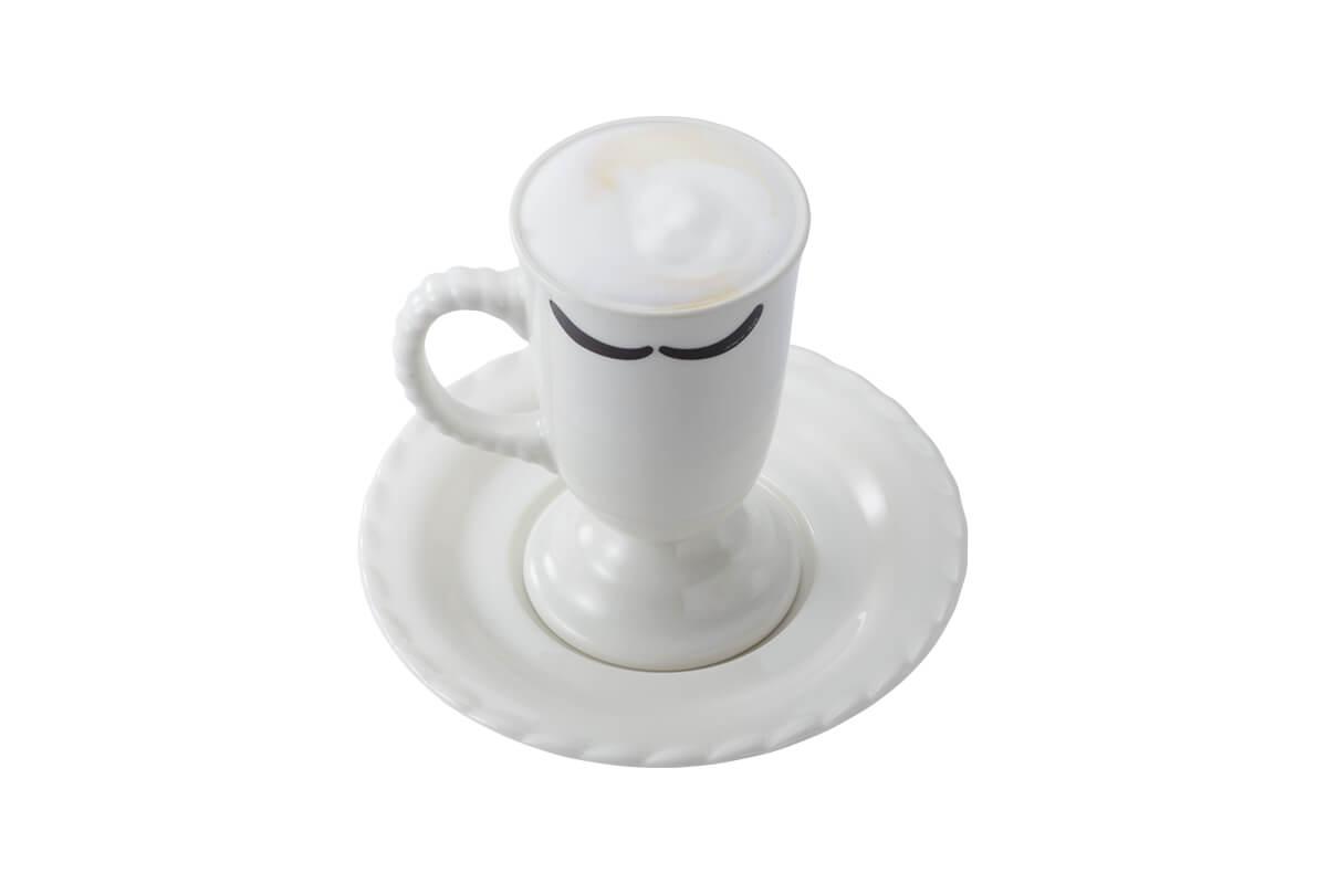 びっくりドンキーの『贅沢ミルク泡 カプチーノ』