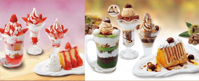 びっくりドンキーの『季節限定デザート』