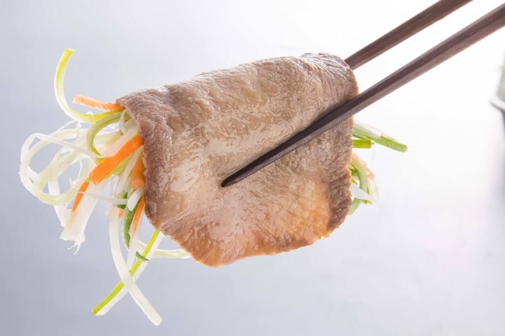 しゃぶ葉の『牛たん&鹿児島産黒豚食べ放題』