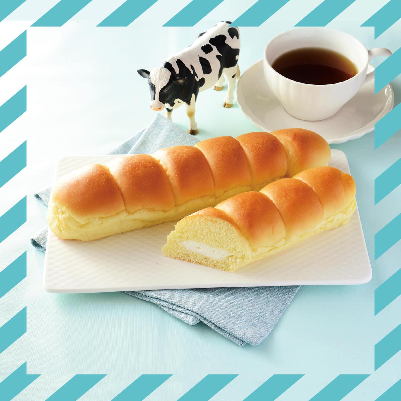 ローソン×生クリーム専門店MILK『LAWSON BAKERY×生クリーム専門店Milk MILKカスタードのちぎりパン』