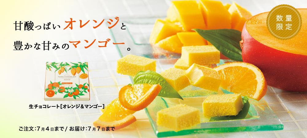 ロイズの『生チョコレート[オレンジ&マンゴー]』