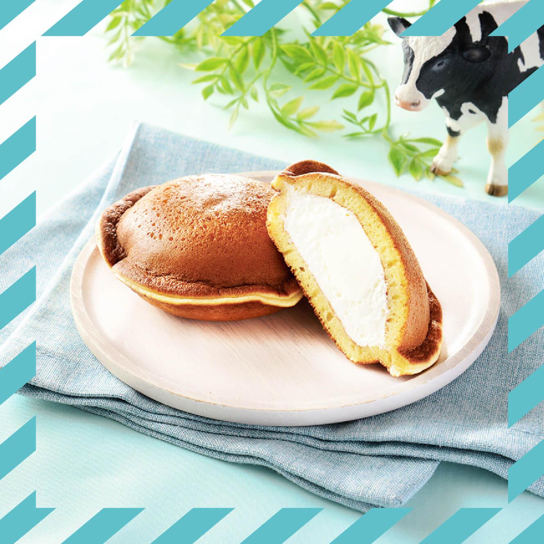 ローソン×生クリーム専門店MILK『Uchi Café×生クリーム専門店Milk MILKどらもっち 練乳ソース入り』