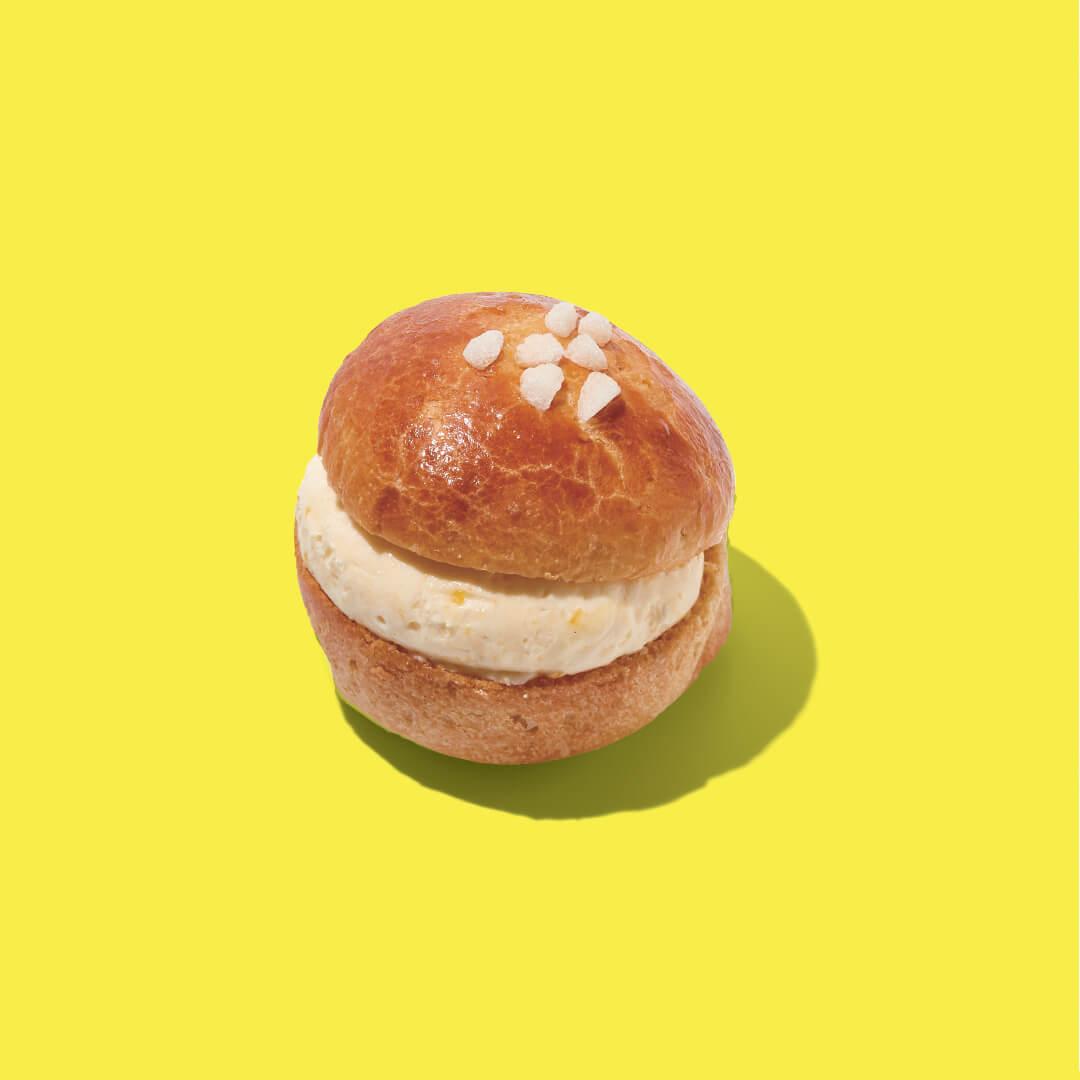 BOUL'ANGE(ブール アンジュ)の『レモンクリームのトロペジェンヌ』