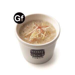 スープストックトーキョーのグルテンフリー対応メニュー-東京参鶏湯(サンゲタン)