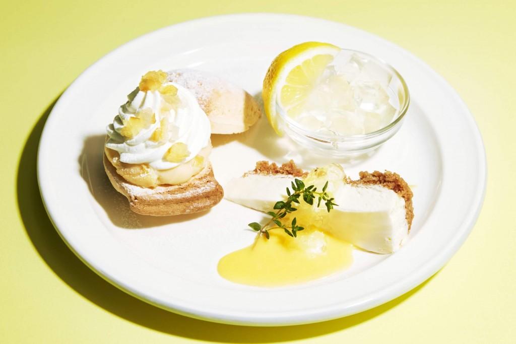 J.S. PANCAKE CAFEの『レモンフェア』-レモンづくしのスイーツプレート