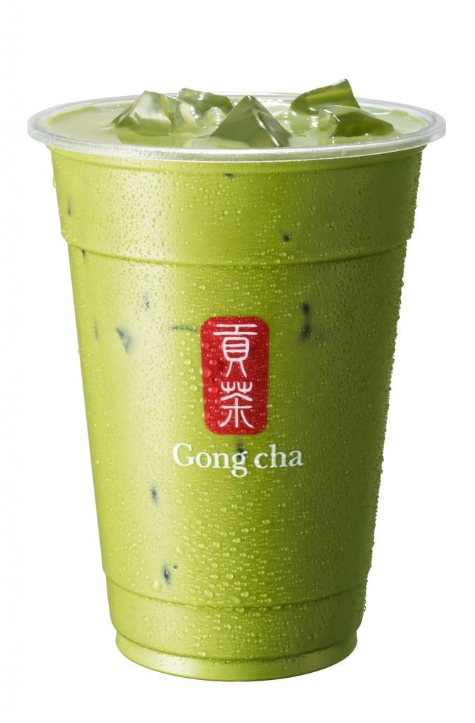 ゴンチャの『新 抹茶 ミルクティー』