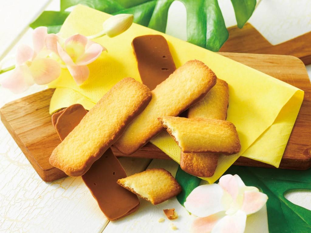 ロイズ「ロイズ石垣島」-バトンクッキー[黒糖25枚入]