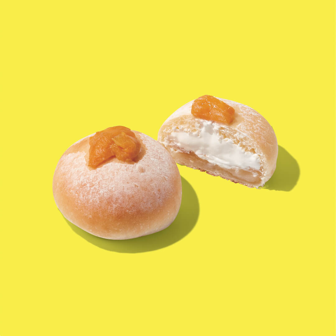 BOUL'ANGE(ブール アンジュ)の『マンゴー大福餡パン』