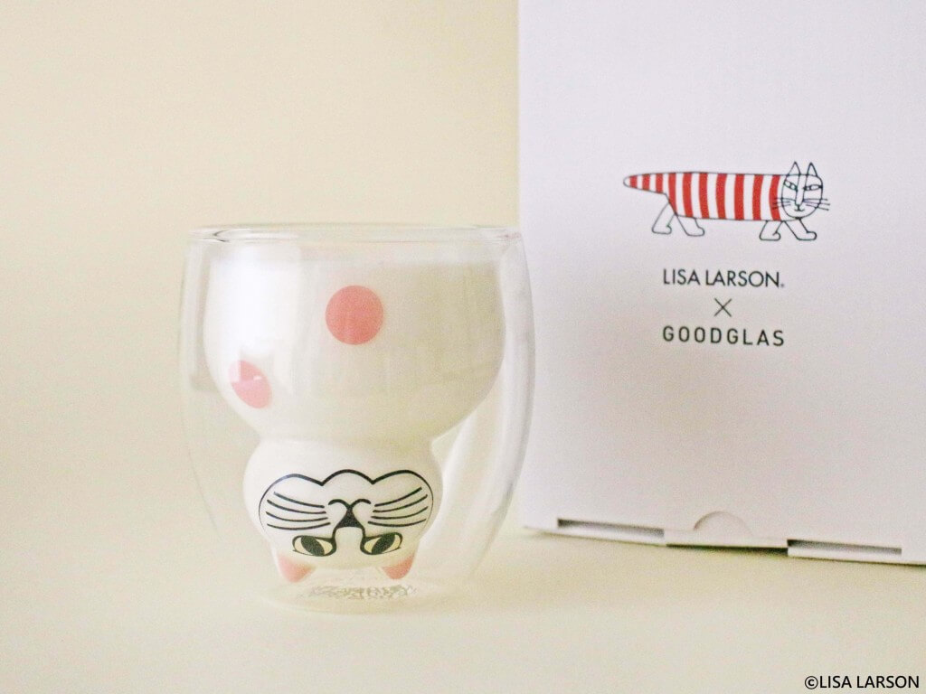 「リサ・ラーソン」二層グラス