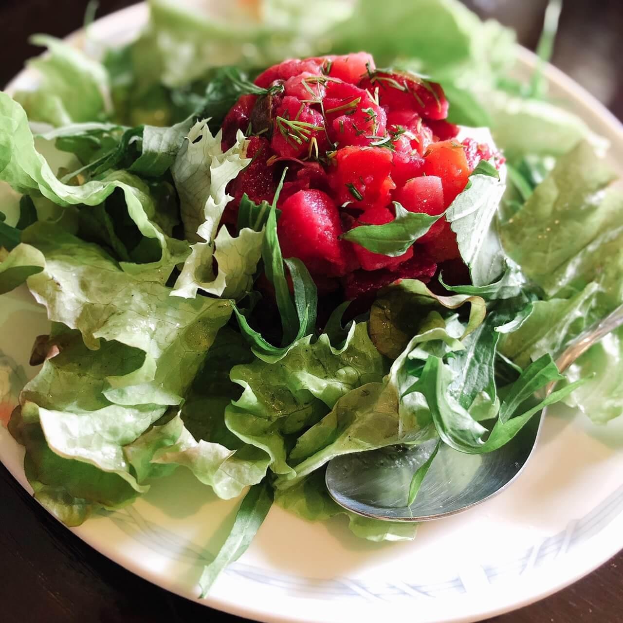 ペチカの『ヴイニグレッドサラダ』
