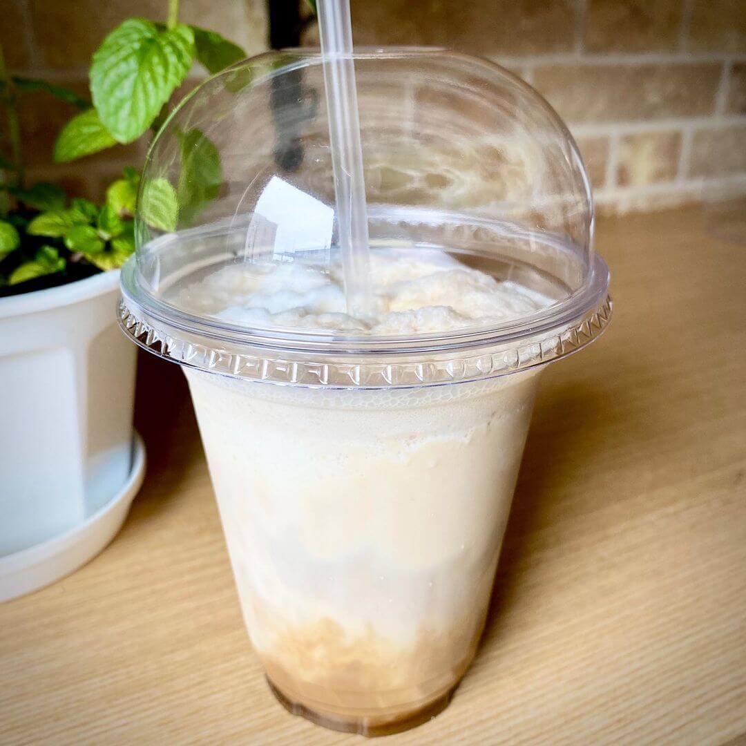 cafe melt.(カフェメルト)の『アフォガードフラッペ』