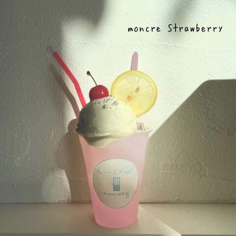 Cream&Waffle! moncozy(クリームアンドワッフル モンコジ)の『moncre Strawberry』