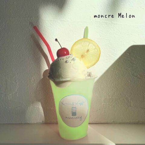 Cream&Waffle! moncozy(クリームアンドワッフル モンコジ)の『moncre Melon』