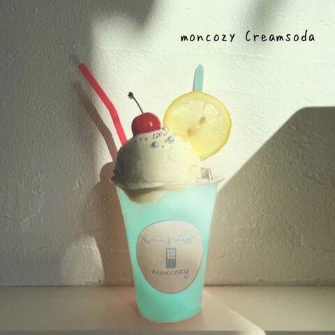 Cream&Waffle! moncozy(クリームアンドワッフル モンコジ)の『moncozy Creamsoda』