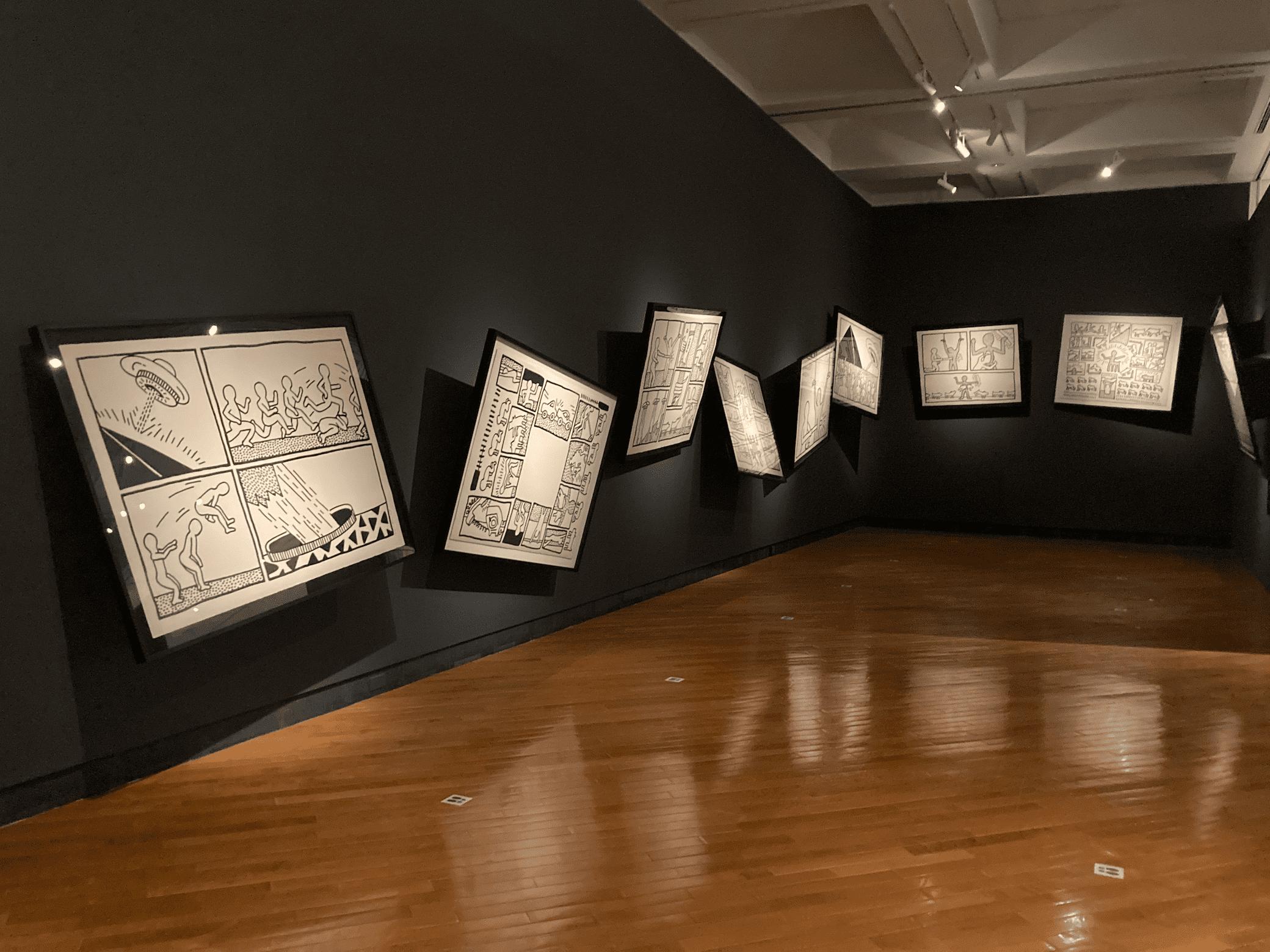 アート×コミュニケーション=キース・へリング展の会場