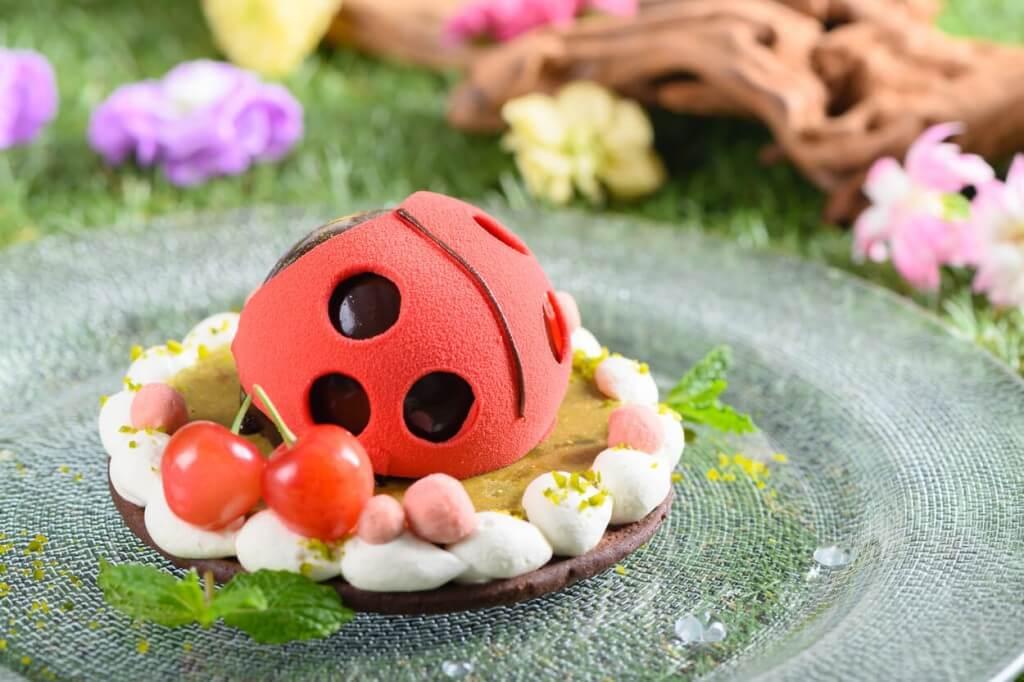 ANAクラウンプラザホテル札幌のオリジナルてんとう虫のケーキ『SAMBA(サンバ)』