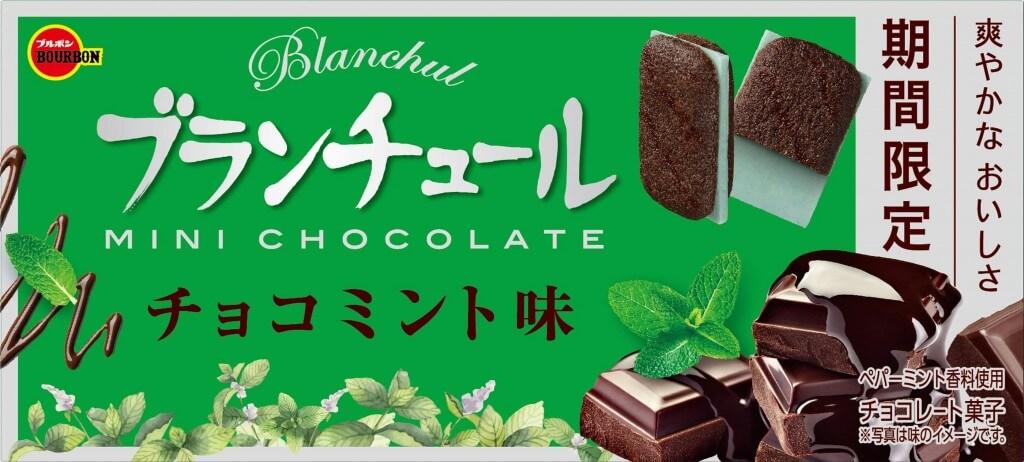 『ブランチュールミニチョコレートチョコミント味』