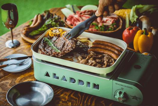 NU AiR 2021 THE ROOF TOP of SAPPORO TOKYU dep.-自分で焼くから美味しさを堪能