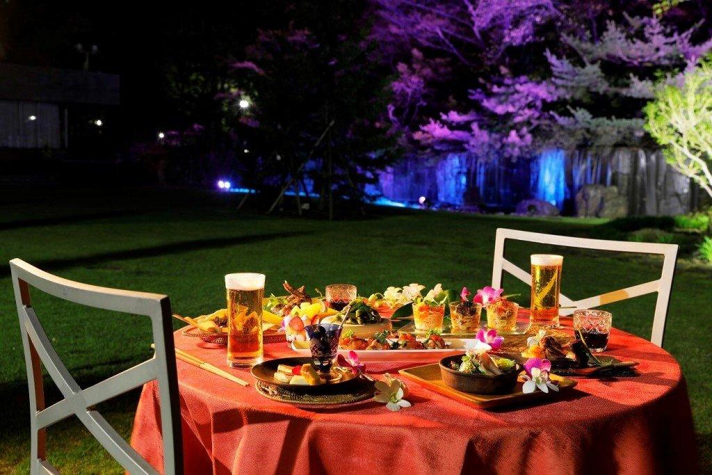 札幌パークホテルの『Sapporo Park Hotel Garden Dining』
