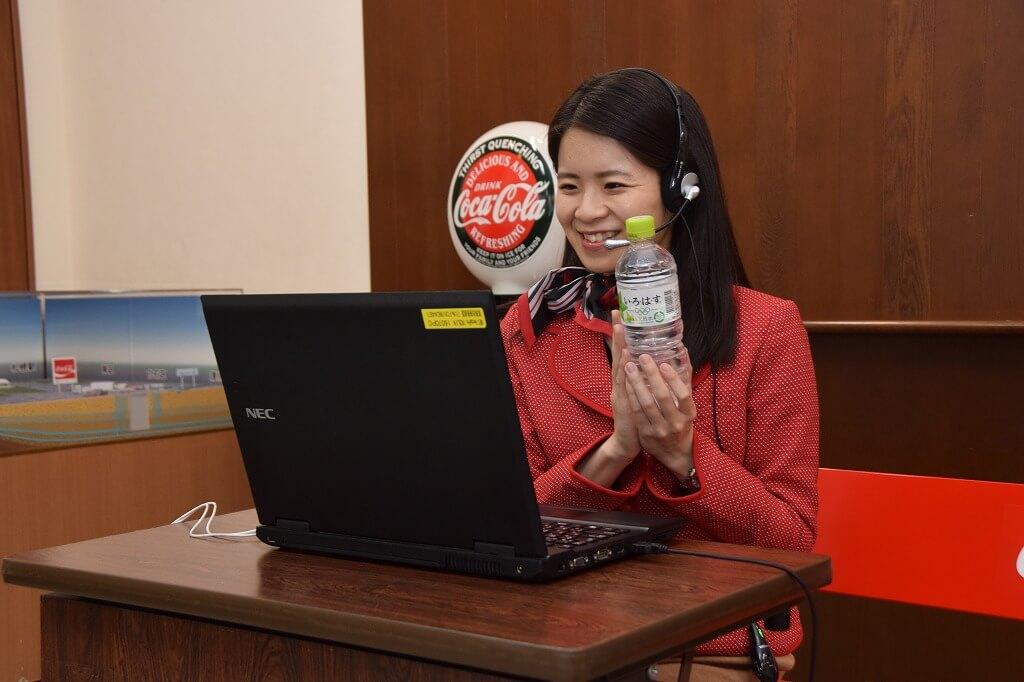 北海道コカ・コーラボトリング株式会社のオンライン工場見学
