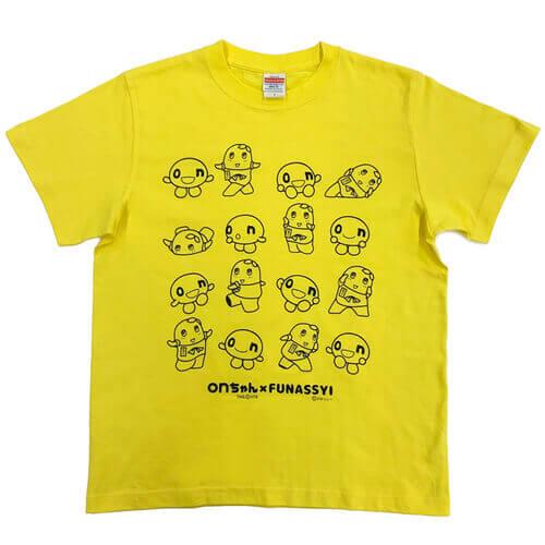 onちゃん×ふなっしー『Tシャツ(S、M、L)』