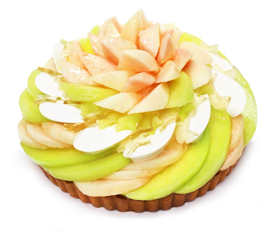 カフェコムサの『彦星 — ももとメロンのケーキ —』