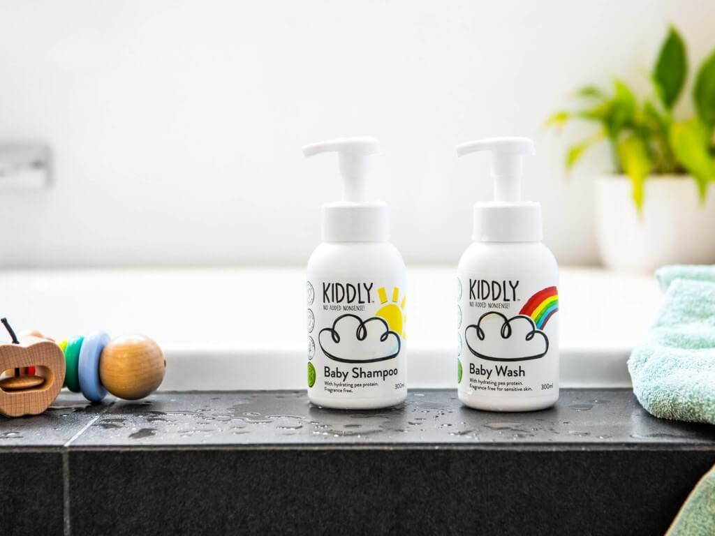 オーガニックスキンケアブランド「KIDDLY」の製品