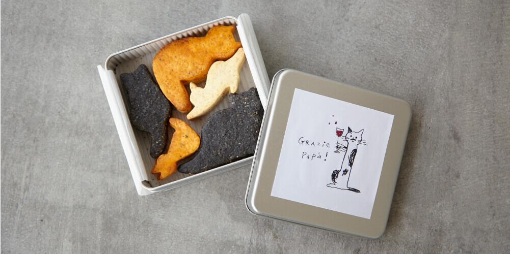 ukafe(ウカフェ)の『ukafe おつまみ猫クッキー』