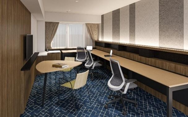 京王プレリアホテル札幌の『カスタムオフィス』