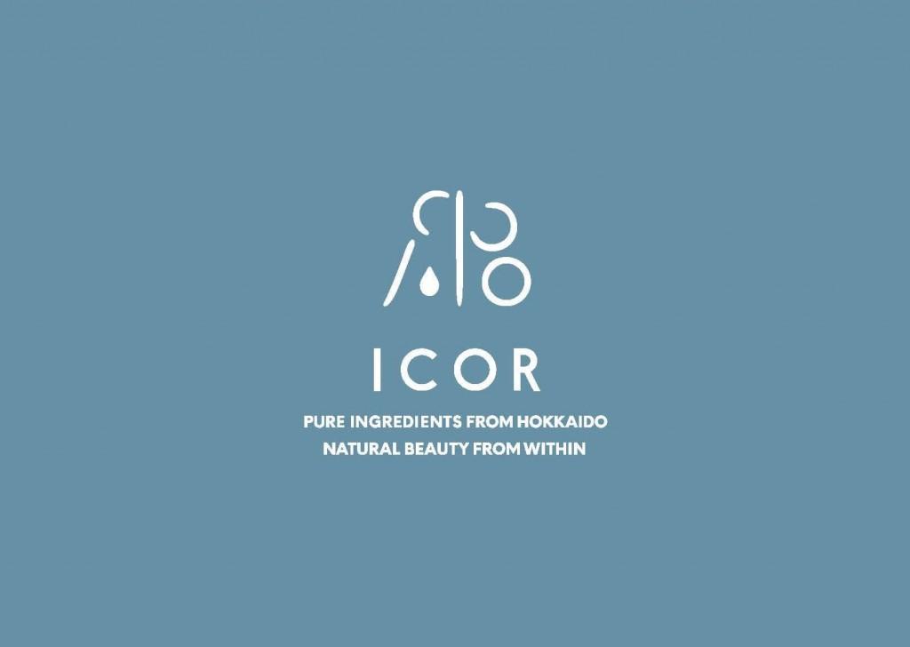ビューティーブランド『ICOR(イコ)』のロゴ