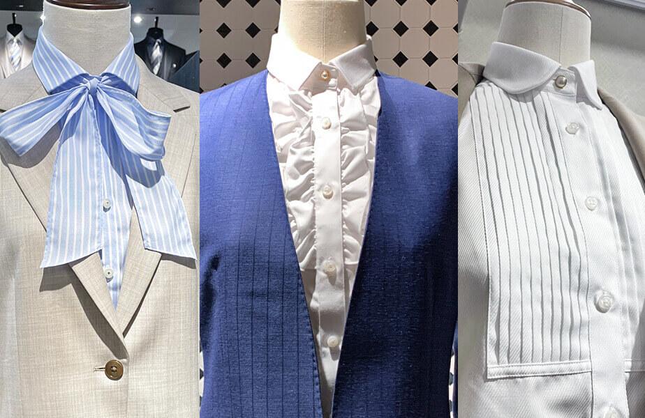 グローバルスタイルの『レディースオーダーシャツ』