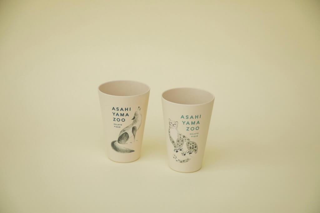 gelato pique(ジェラート ピケ)の『ASAHIYAMA ZOO COLLECTION』-エコカップ各種