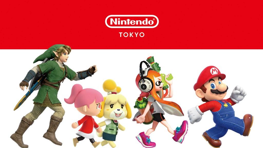 2021年パルコ サマーキャンペーン-Nintendo TOKYO POP-UP STORE