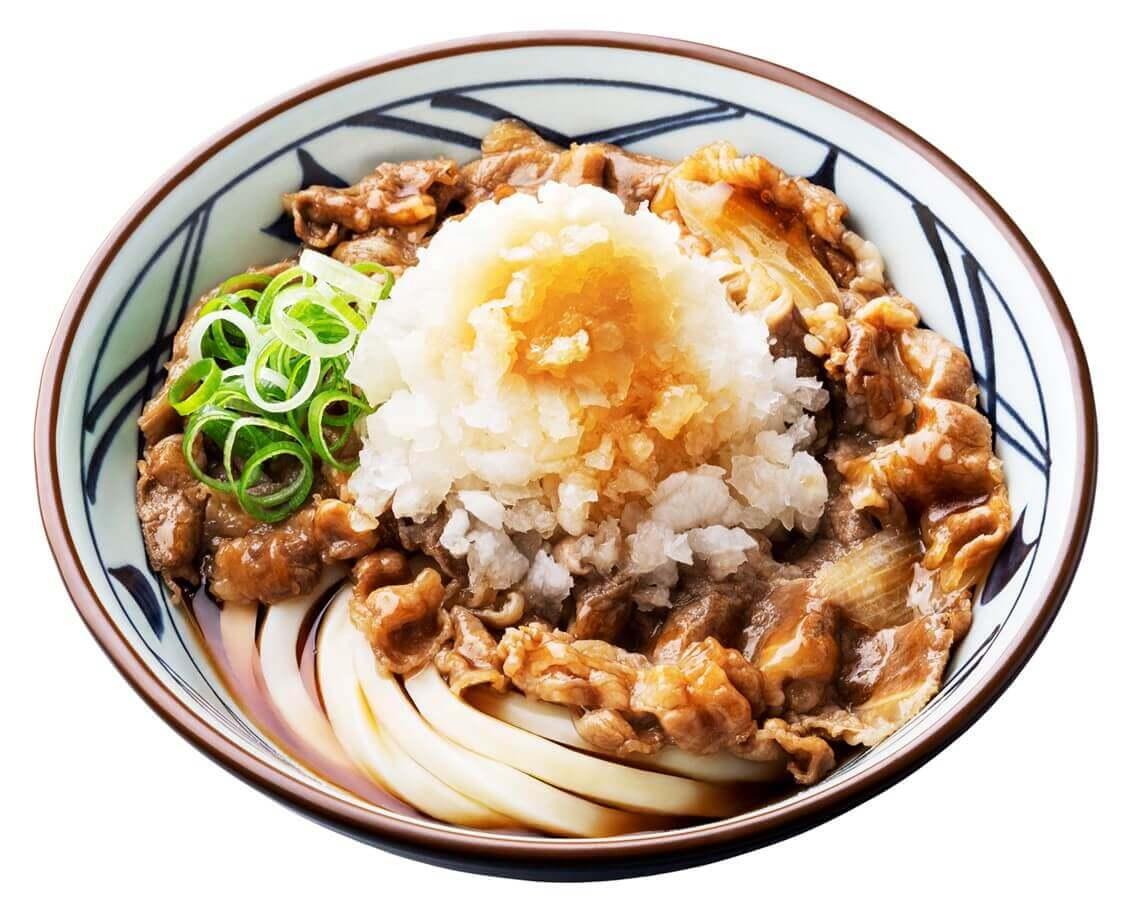 丸亀製麺の『鬼おろし肉ぶっかけうどん』