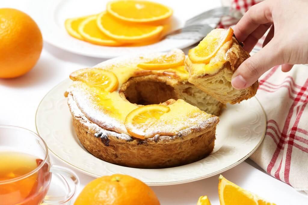 ハートブレッドアンティークの『マジカルオレンジチョコリング』