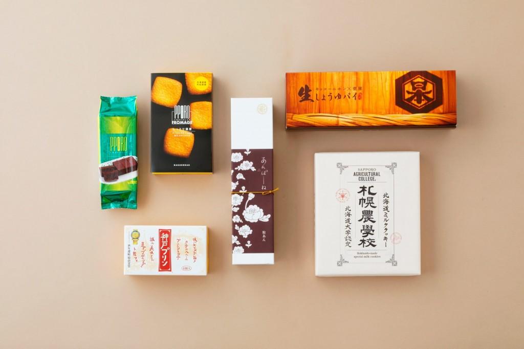 『MILKLAND HOKKAIDO 菓子フェス OTORIYOSE』-ご当地銘菓Ⓐセット