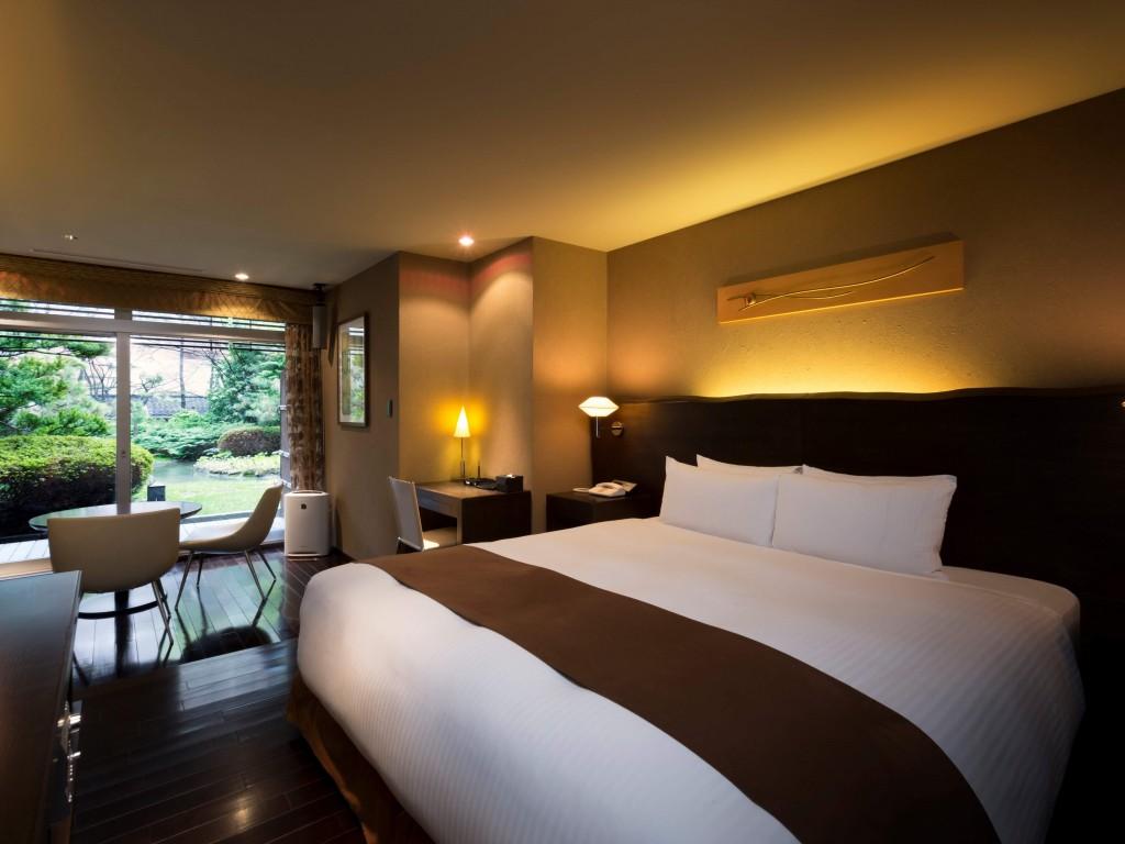 札幌グランドホテルの『ガーデンビューデラックスダブルルーム』