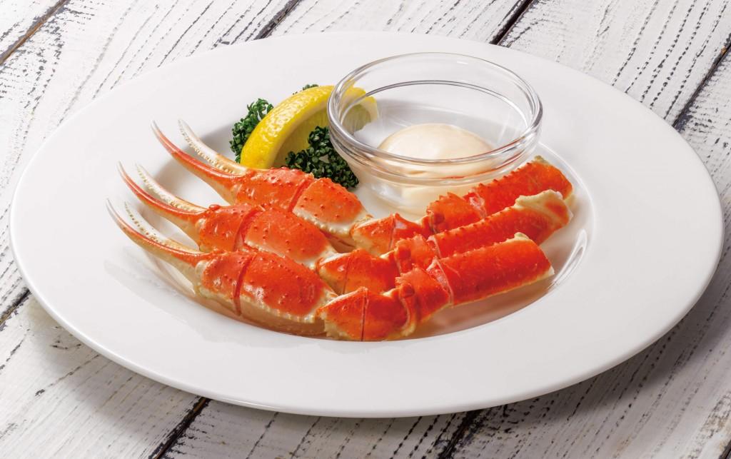 ロイヤルホストの『季節のご馳走フェア』-ボイルずわい蟹~アイオリクリームソース付~