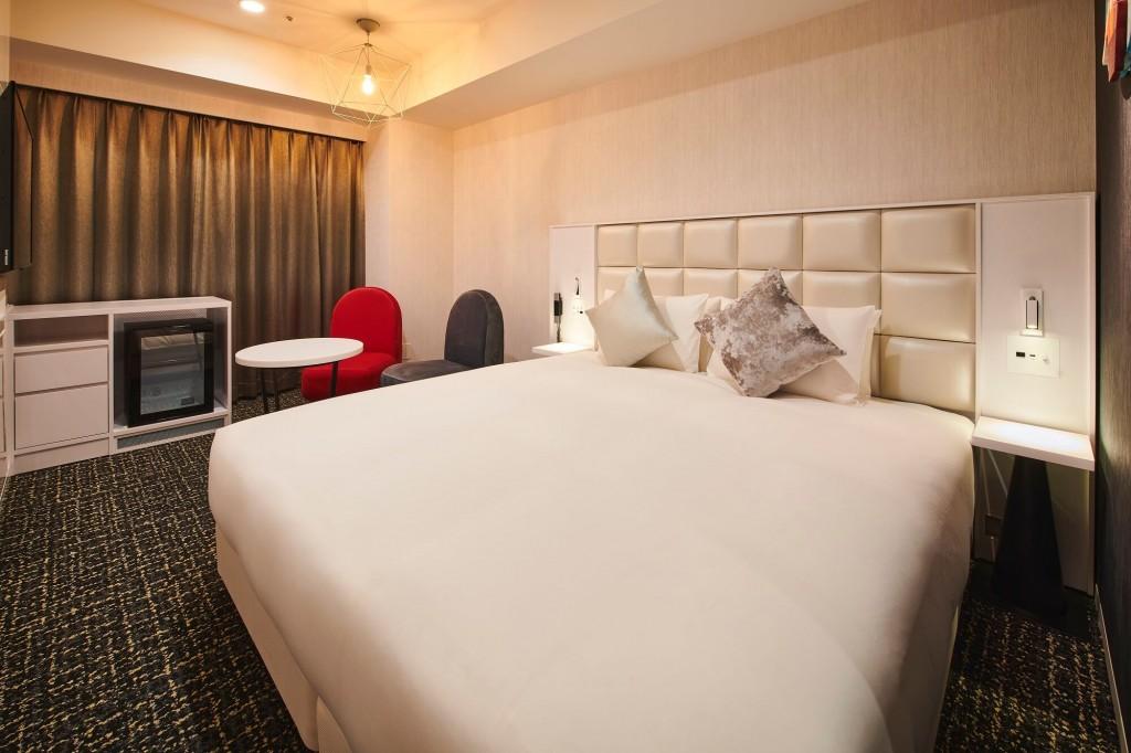 クロスホテル札幌のスタンダードフロア ダブルルーム