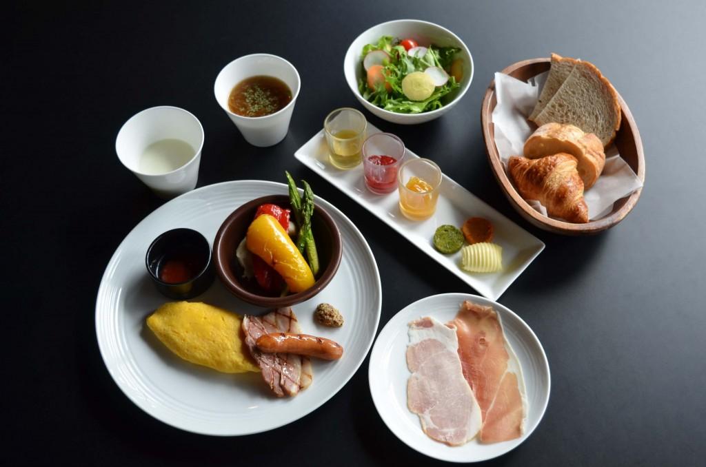 クロスホテル札幌×『ICOR(イコ)』タイアップ宿泊プラン-洋食朝食イメージ