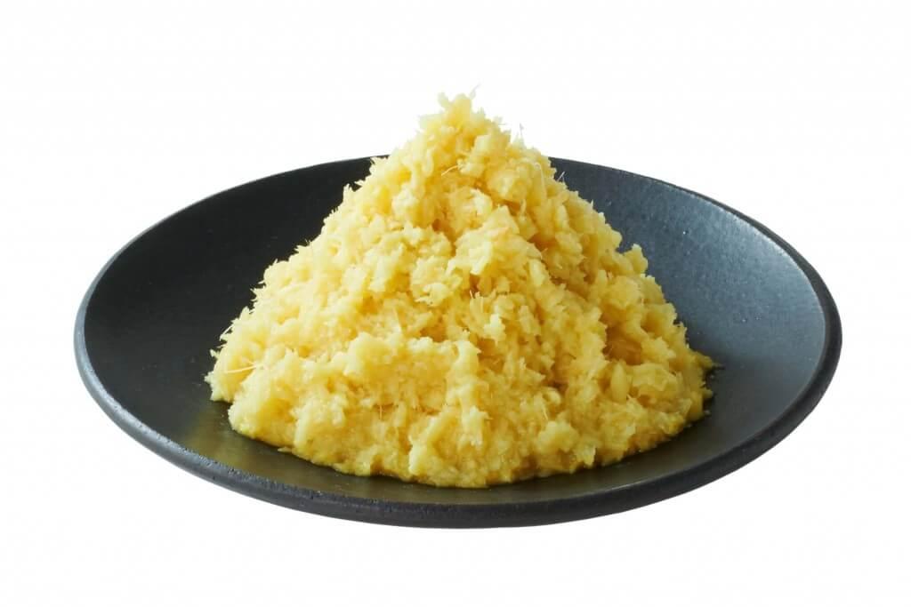 丸亀製麺の薬味-おろししょうが