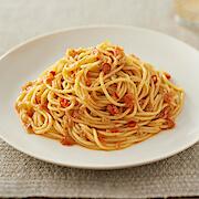 無印良品の『素材を生かしたパスタソース ドライトマトとアンチョビのペペロンチーノ』