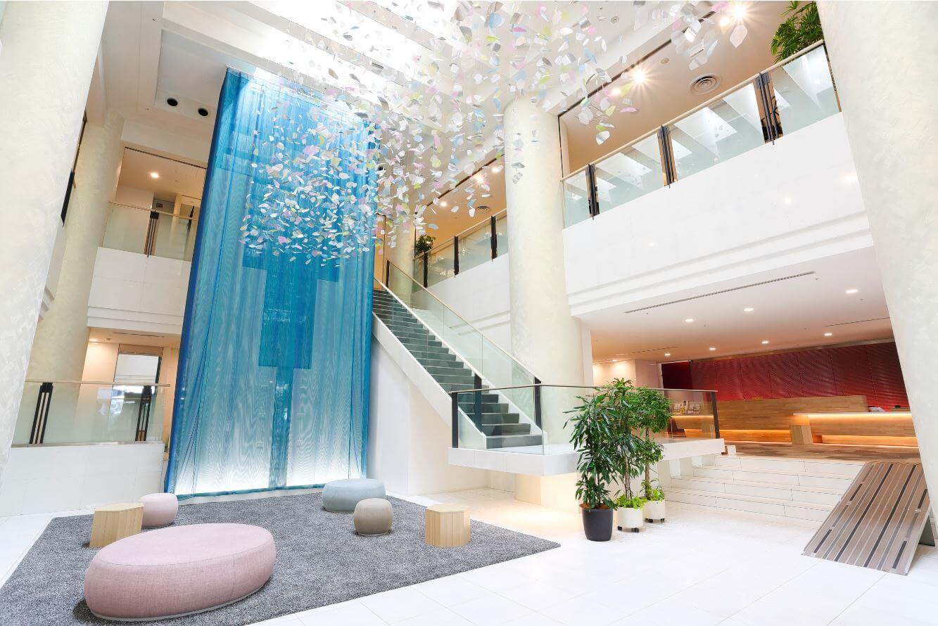 テンザホテル&スカイスパ・札幌セントラルのロビー