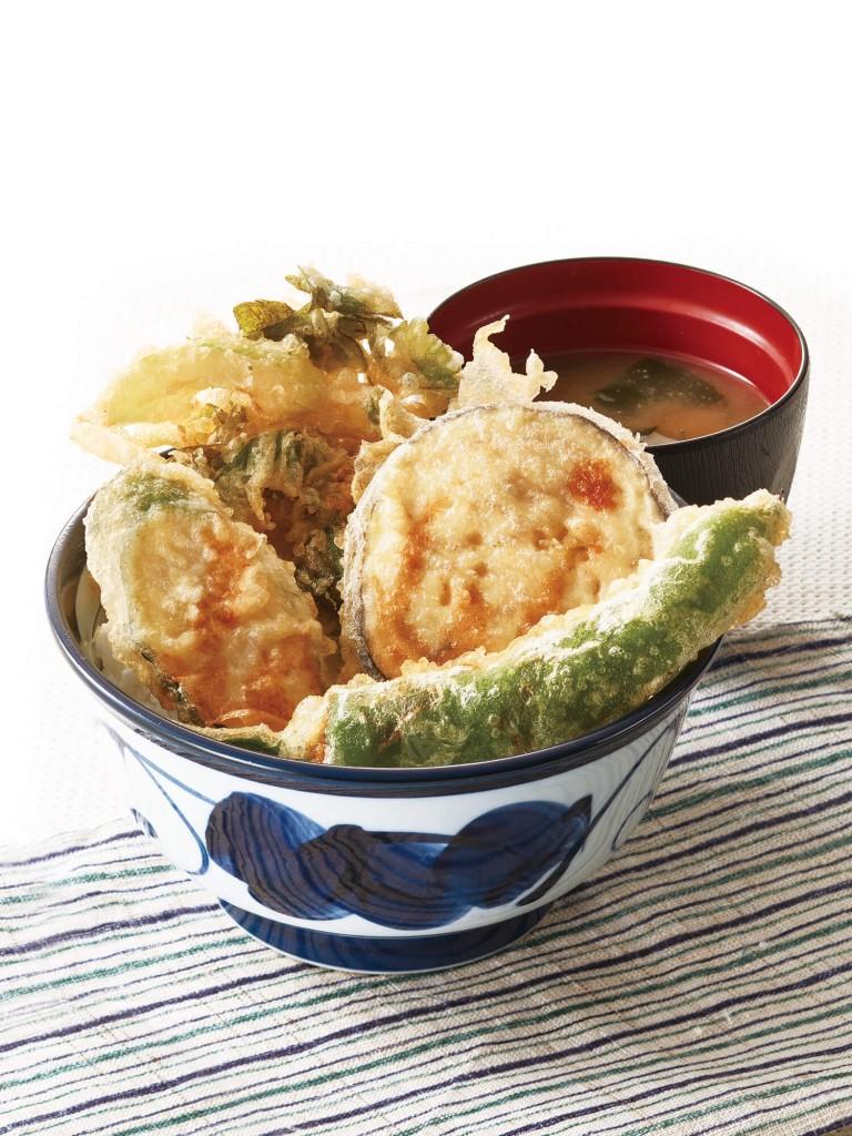 天丼てんやの『国産夏野菜の天丼』