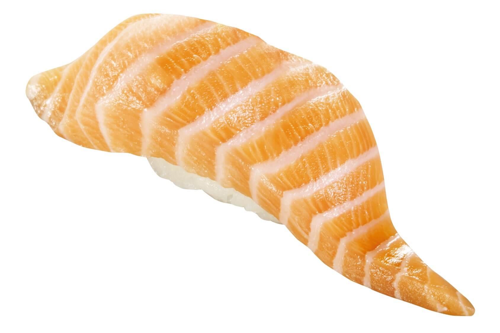 くら寿司の『【ノルウェー産】特大切り 生サーモン』