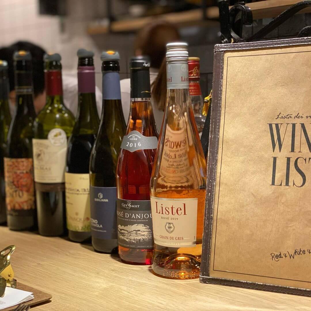 BRACERIA BAR BRIO(ブラチェリア バール ブリオ)のワイン