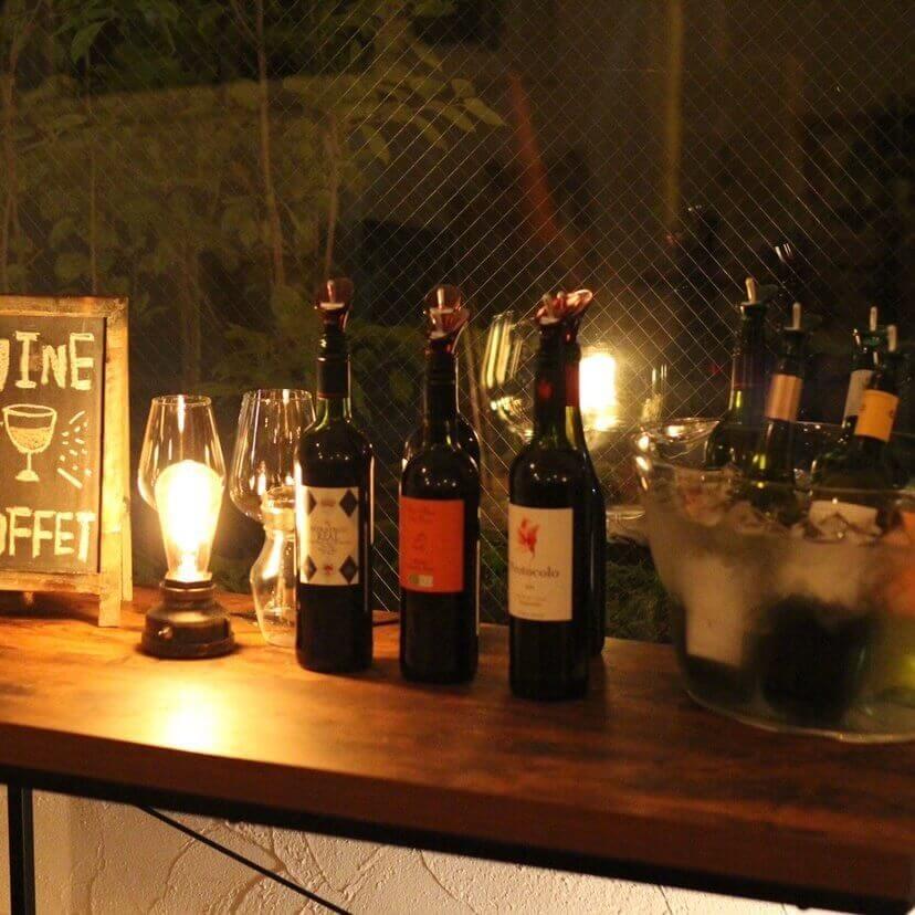 肉とワインのバル moncozy(モンコジ)のワイン