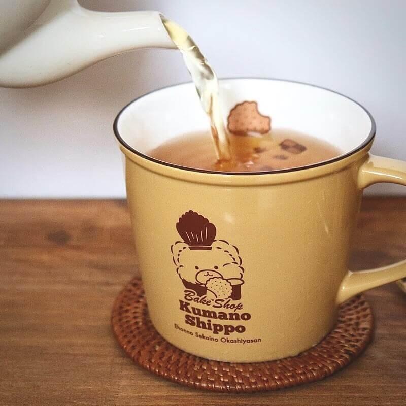 くまのしっぽの『オリジナルマグカップ』